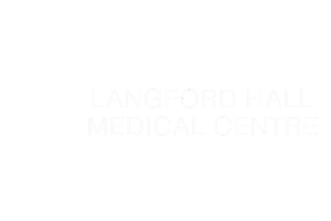 Langford Medical Centre White Logo