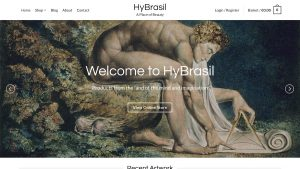HyBrasil Website