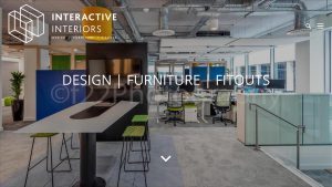 Interactive Interiors Website