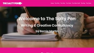 The Salty Pen Website